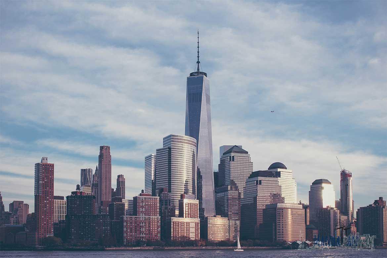 One World Trade Center de paseo por manhattan