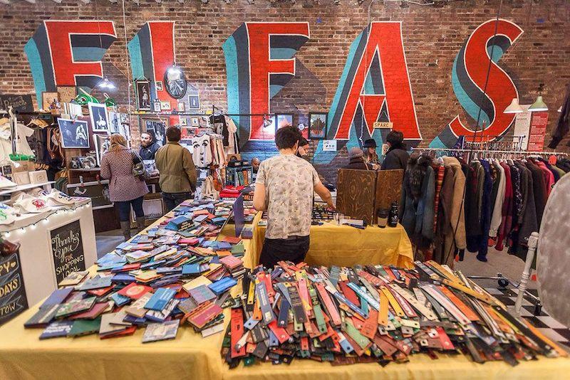 de paseo por manhattan - Flea Market en Nueva York